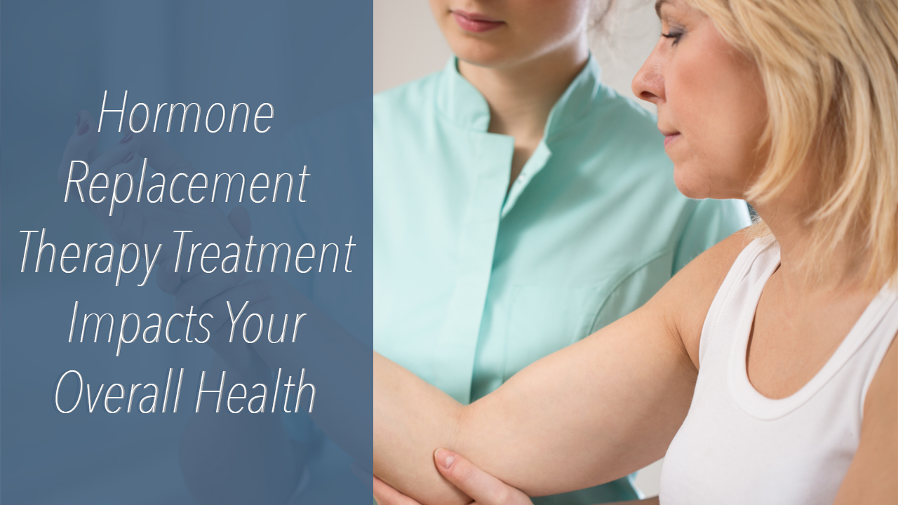 hormone replacement A few years ago, the use of hormone replacement therapy looked like a medical mess for decades, women were told that hrt -- usually a combination of estrogen and progestin -- was good for them during and after menopause.